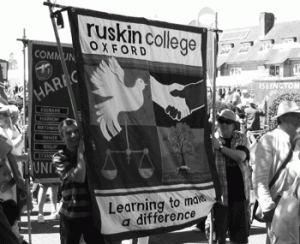 Ruskin college students at Tolpuddle