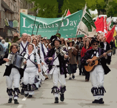 A common peoples history of the UK part 3: Levellers and ranters and diggers