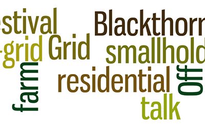 Film: Blackthorn farm: residential off-grid smallholding talk – Off Grid Festival 2012